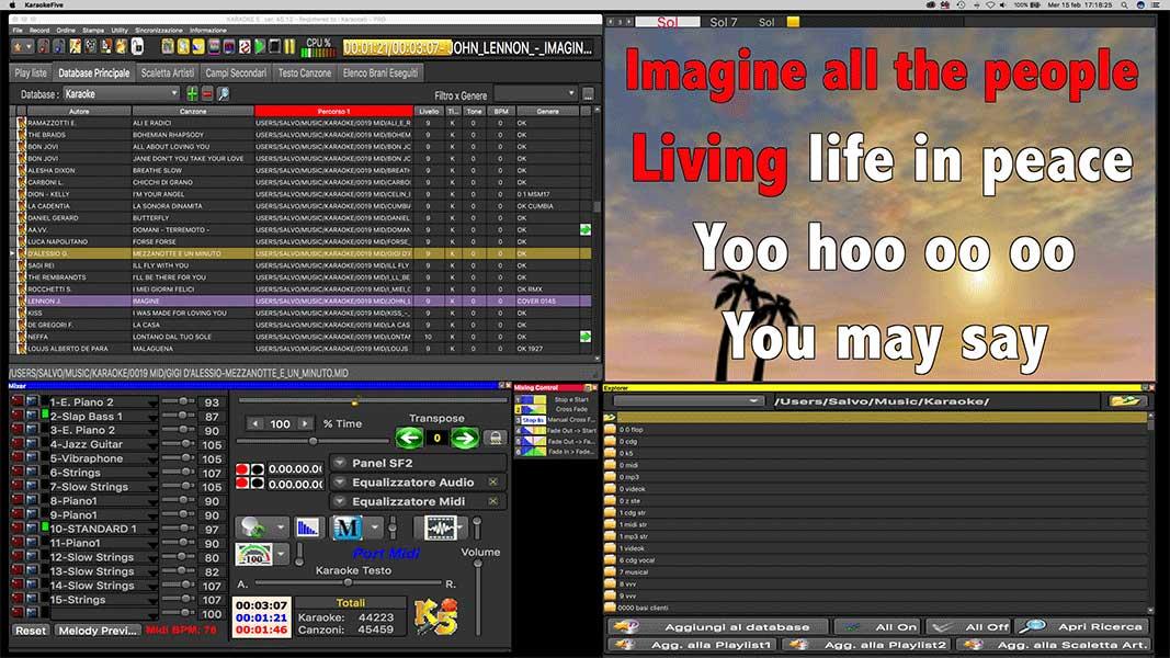Karaoke 5 - Player and creator Karaoke  Karaoke professional
